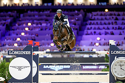Guerdat Steve, SUI, Venard de Cerisy<br /> LONGINES FEI Jumping World Cup™ - Lyon 2019<br /> © Hippo Foto - Julien Counet<br /> 03/11/2019