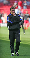 Photo: Andrew Unwin.<br />Middlesbrough v Everton. The Barclays Premiership. 29/04/2006.<br />Everton's manager, David Moyes.