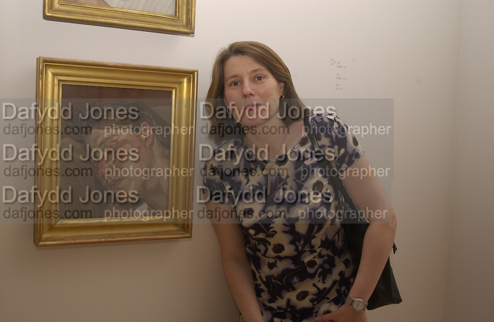 Susie Boyt. Lucian Freud private view dinner. Tate. 17June 2002. © Copyright Photograph by Dafydd Jones 66 Stockwell Park Rd. London SW9 0DA Tel 020 7733 0108 www.dafjones.com