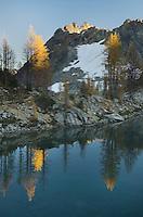 Wing Lake and Corteo Peak, North Cascades Washington