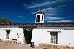 Exterior of the La Casa de Estudillo Museum, Old Town San Diego, California, United States of America