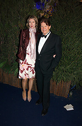 JOHN MADEJSKI and his daughter CAMILLA MORRIS at the British Red Cross London Ball held at The Room by The River, 99 Upper Ground, London SE1 on 16th November 2006.<br />