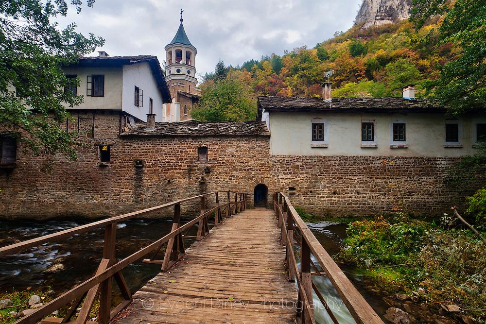 Dryanovo monastery in early autumn