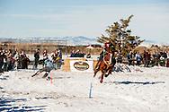 Ski Joring, Wild West Winter Fest, Bozeman, Montana