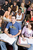 Group of University students in lecture hall