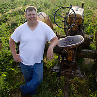 Doug Woolf  bought his grandparents farm when they retired three years ago and named it Morning DEW Orchards, expanding what was just an apple orchard into so much more.