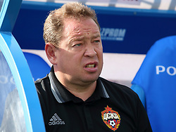 August 20, 2016 - St. Petersburg, Russia, Russia - August 20- 2016.Russia.Sankt Petersburg.Russian Football Championship 2016/17. FC Zenit - FC CSKA. Leonid Slutsky. CSKA head coach Leonid Slutsky. (Credit Image: © Russian Look via ZUMA Wire)