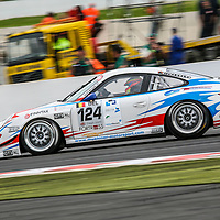 #124, Porsche 997 GT3 Cup S, Muehlner Motorsport, driven by: Duncan Huisman (NL)/Ian Khan (GB)/Paul van Splunteren (NL)/Roeland Voerman (NL), at the Spa 24H, 2008