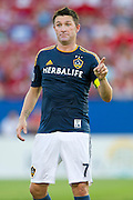 FRISCO, TX - AUGUST 11:  Robbie Keane #7 of the Los Angeles Galaxy has words with an official against FC Dallas on August 11, 2013 at FC Dallas Stadium in Frisco, Texas.  (Photo by Cooper Neill/Getty Images) *** Local Caption *** Robbie Keane
