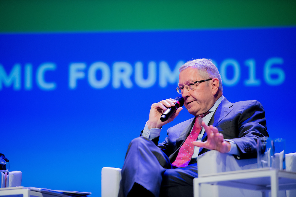 Brussels, Belgium, 9 June 2016<br /> Brussels Economic Forum 2016.<br /> Klaus Regling, Managing Director, European Stability Mechanism.<br /> The Brussels Economic Forum (BEF) is the flagship annual economic event of the European Commission.<br /> The BEF brings together top European and international policymakers and opinion leaders as well as civil society and business leaders. It is the place to take stock of economic developments, identify key challenges and debate policy priorities.<br /> Photo: European Commission / Ezequiel Scagnetti