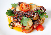 The pulpo confit at Esteban in Monterey, Calif., on Thursday, May 14, 2015.
