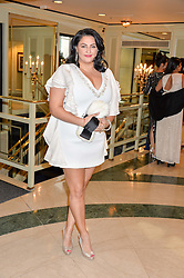 KIRAN SHARMA at the 6th annual Asian Awards held at The Grosvenor House Hotel, Park Lane, London on 8th April 2016.