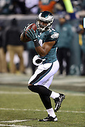 Philadelphia Eagles running back Bryce Brown (34) in action during the NFL NFC Wild Card football game against the New Orleans Saints on Saturday, Jan. 4, 2014 in Philadelphia. The Saints won the game 26-24. ©Paul Anthony Spinelli