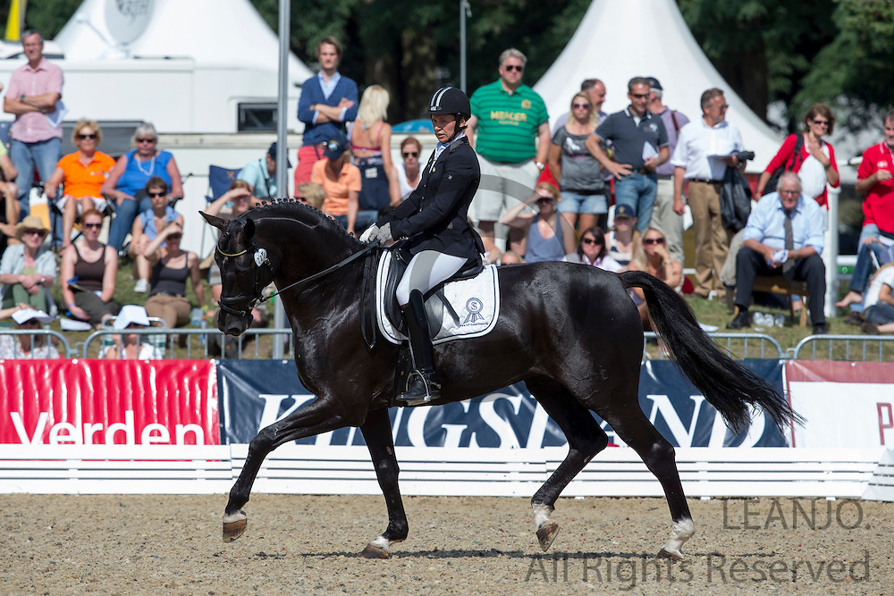 Inna Tzydrenkova - Der Designer<br /> FEI World Breeding Dressage Championships for Young Horses 2012<br /> © DigiShots