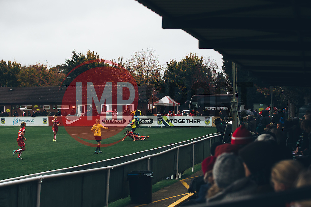 General View - Rogan Thomson/JMP - 06/11/2016 - FOOTBALL - The Northcourt Stadium - Abingdon-on-Thames, England - Oxford United Women v Bristol City Women - FA Women's Super League 2.
