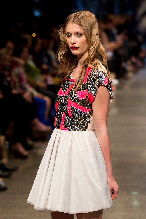 Coop collection at New Zealand Fashion Week, 2012, Auckland, New Zealand, Tuesday, September 04, 2012.  Credit:SNPA / David Rowland