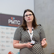 31.08. 2017.                                   <br /> Leaders in the pharmaceutical manufacturing sector in Ireland gathered at University of Limerick today for the third annual Pharmaceutical Manufacturing Technology Centre (PMTC) Knowledge Day.<br /> <br /> Pictured at the event was Caroline Blacksheilds.<br /> <br /> The event provided a showcase for the cutting-edge research supported by the centre with key note addresses from industry thought leaders who shared their vision of the future for the pharmaceutical sector. Picture: Alan Place