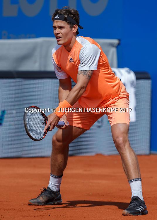 DANIEL MASUR (GER)<br /> <br /> Tennis - BMW Open2017 -  ATP  -  MTTC Iphitos - Munich -  - Germany  - 1 May 2017.