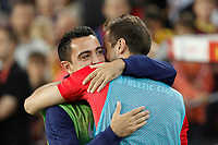 Barcelona´s Xavi Hernandez during 2014-15 Copa del Rey final match between Barcelona and Athletic de Bilbao at Camp Nou stadium in Barcelona, Spain. May 30, 2015. (ALTERPHOTOS/Victor Blanco)