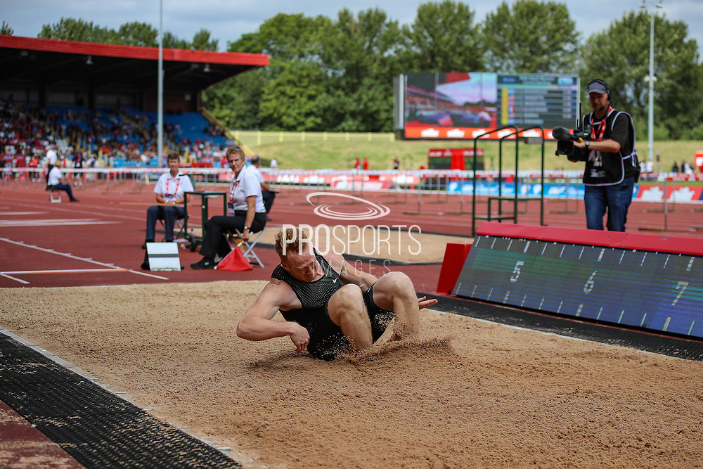 Greg RUTHERFORD of Great Britain during the Muller Grand Prix 2018 at Alexander Stadium, Birmingham, United Kingdom on 18 August 2018. Picture by Toyin Oshodi.
