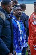 Jermain Defoe of Rangers FC during the Ladbrokes Scottish Premiership match between Rangers and Celtic at Ibrox, Glasgow, Scotland on 12 May 2019.