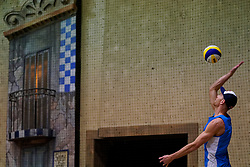 04-01-2020 NED: NK Beach volleyball Indoor, Aalsmeer<br /> Alexander Brouwer #1