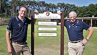 ZEIST - Golfclub Schaerweijde in Zeist. Voorzitter Wim Bultman (r) en bestuurslid Kees van der Lee. FOTO KOEN SUYK