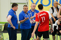 20170525 NED: 2018 FIVB Volleyball World Championship qualification, Koog aan de Zaan<br />Artur Romascan, headcoach of Republic of Moldova <br />©2017-FotoHoogendoorn.nl / Pim Waslander