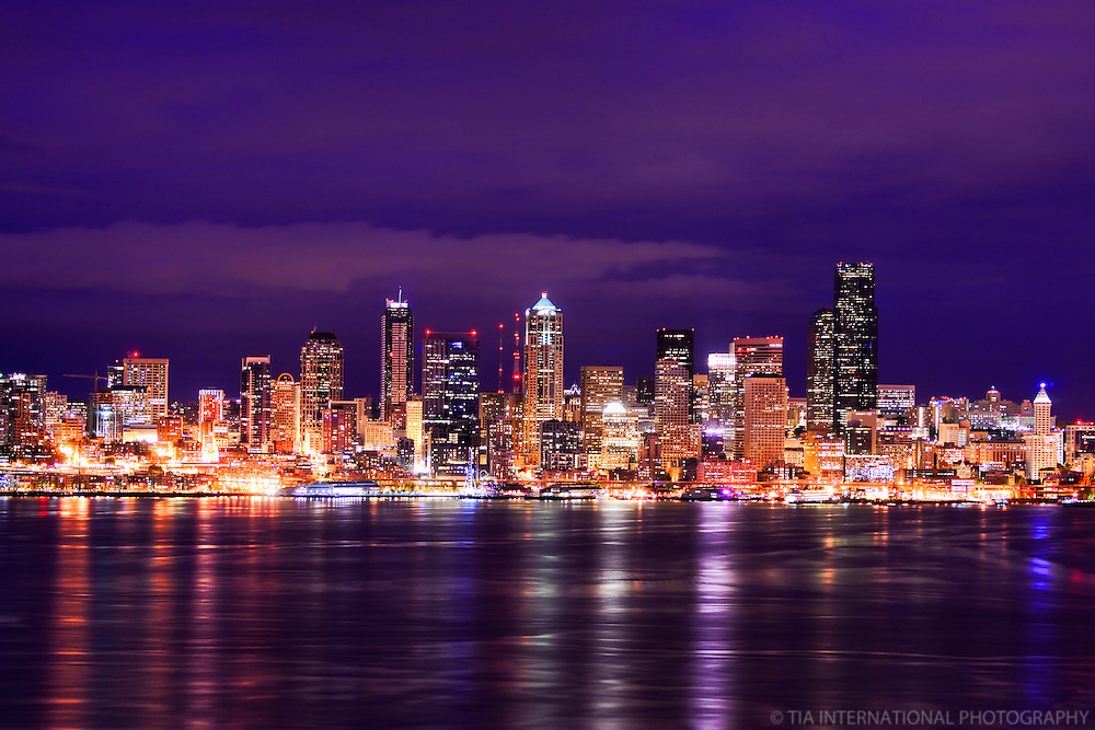 Seattle Skyline, Hamilton Viewpoint Park