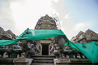 Khmer style temple; Koh Pha Ngan; Thailand