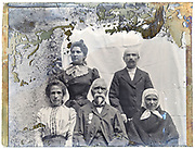 three generation family portrait early 1900s France