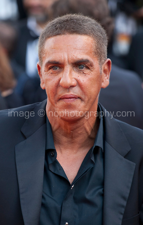 Actor Samy Naceri arriving to the Closing Ceremony and awards at the 70th Cannes Film Festival Sunday 28th May 2017, Cannes, France. Photo credit: Doreen Kennedy