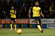 Burton Albion striker Darren Bent (9) during the EFL Sky Bet Championship match between Burton Albion and Reading at the Pirelli Stadium, Burton upon Trent, England on 30 January 2018. Photo by Richard Holmes.