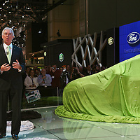 Ford Fiesta with John Flemming<br /> (Chairman and CEO Ford of Europe), Fiesta Launch Geneva Motor Show 2008