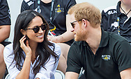 25.09.2017; Toronto, CANADA: MEGHAN MARKLE &amp; PRINCE HARRY TOGETHER<br />
