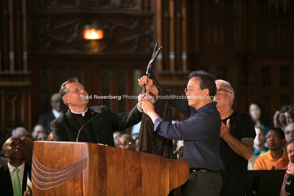 6/11/17 4:17:09 PM --  Chicago, IL<br /> The Negaunee Music Institute at the Chicago Symphony Orchestra <br /> <br /> Yo-Yo Ma Presents a Concert for Peace <br /> Presented in partnership with St. Sabina Church<br /> <br />  &copy;&nbsp;Todd Rosenberg Photography 2017