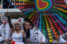 27 June 2015 - Thousands celebrate London Pride in glorious sunshine.
