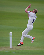 Paul Collingwood (Durham County Cricket Club) in action during the LV County Championship Div 1 match between Durham County Cricket Club and Yorkshire County Cricket Club at the Emirates Durham ICG Ground, Chester-le-Street, United Kingdom on 28 June 2015. Photo by George Ledger.