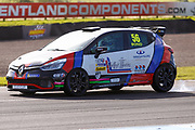 Jamie Bond(GBR) Team HARD during Round 14 of the Renault UK Clio Cup at Knockhill Racing Circuit, Dunfermline, Scotland on 15 September 2019.
