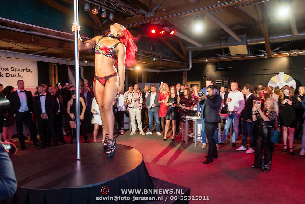 NLD/Amsterdam/20160601 - Uitreiking Porna Awards 2016, paaldanseres