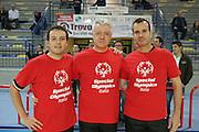 Frosinone, 25/11/2012<br /> Arbitri con Special Olympics Italia