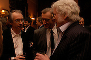 Ian McEwan, Julian Barnes and Redman O'Hanlan. Book party for 'Saturday' by Ian McEwan, Polish Club, South Kensington.  4 February 2005. ONE TIME USE ONLY - DO NOT ARCHIVE  © Copyright Photograph by Dafydd Jones 66 Stockwell Park Rd. London SW9 0DA Tel 020 7733 0108 www.dafjones.com