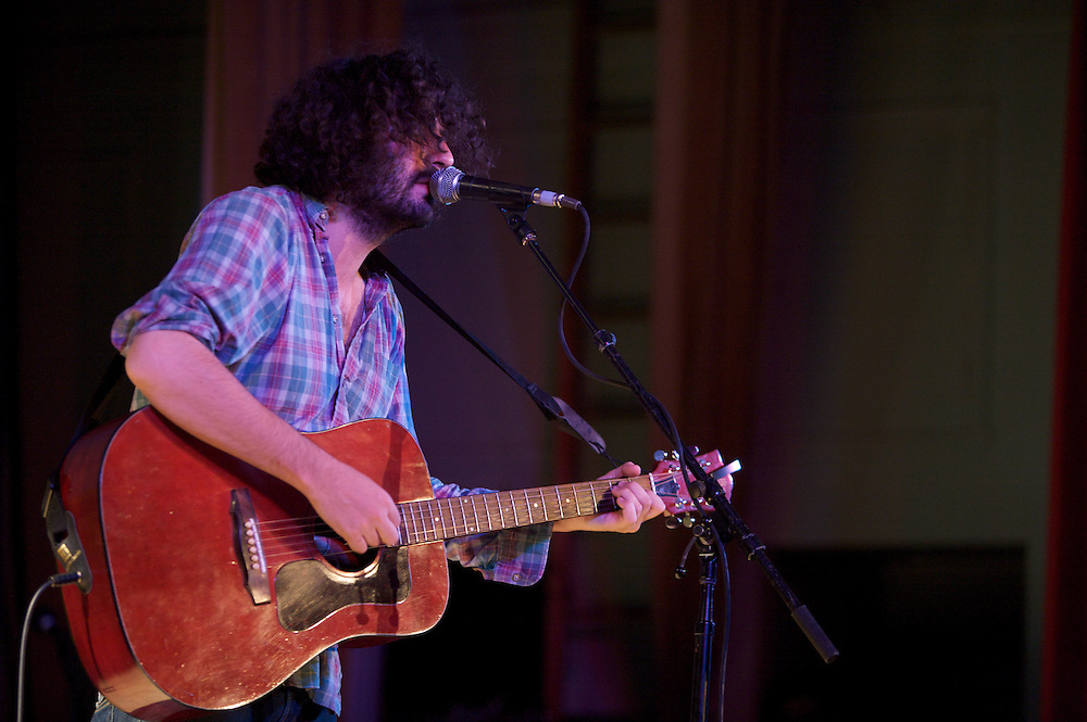 Destroyer performs at the Ukrainian Federation as part of the 8th annual Pop Montreal festival on October 2nd, 2009