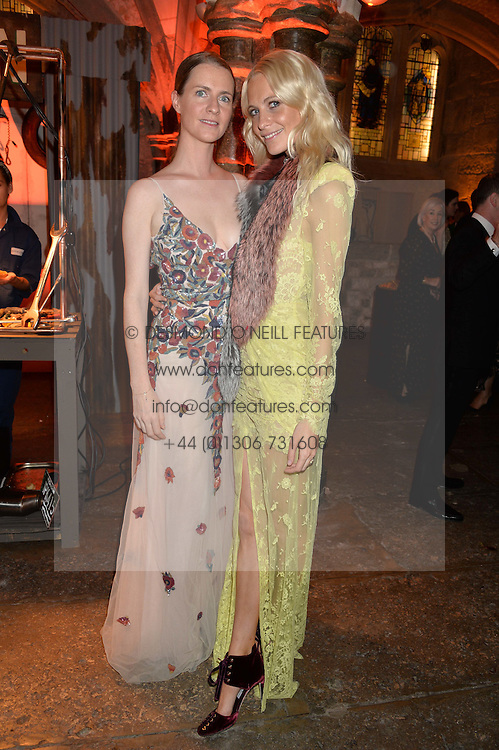 Left to right, sisters CHLOE DELEVINGNE and POPPY DELEVINGNE at Save the Children's spectacular, black tie Winter Gala, a festive fundraising event held at London's Guildhall. Guests were transported into the magical world of the much-celebrated British novelist, Roald Dahl, in celebration of his centenary, for a marvellous evening of fine dining and gloriumtious entertainment to raise money to help transform children's lives across the world and here in the UK.