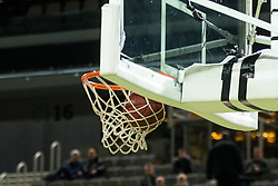 Basket during 2nd leg basketball match between KK Petrol Olimpija and KK Rogaska in quarter final of  Pokal SPAR 2018/19, on January 14, 2019 in Arena Stozice, Ljubljana, Slovenia. Photo by Matic Ritonja / Sportida