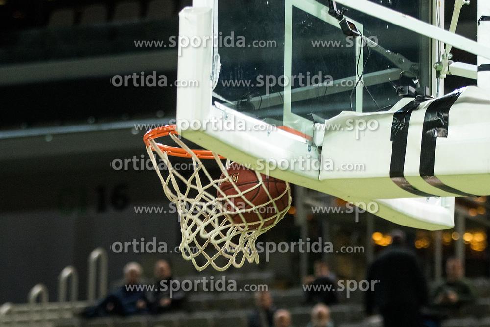 Basket during 2nd leg basketball match between KK Petrol Olimpija and KK Rogaska in quarter final of  Pokal SPAR 2018/19, on January 14, 2019 in Arena Stozice, Ljubljana, Slovenia. Photo by Matic Ritonja / Sportida