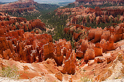 USA, Utah, morning light on landscape at Sunrise Point in Bryce Canyon National Park.