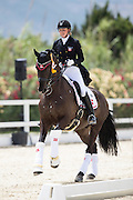 Celine Rorbaek Silfen - Romio Hoejris<br /> European Championships Dressage 2016<br /> © DigiShots