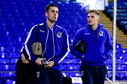 Michael Kelly of Bristol Rovers and Gavin Reilly of Bristol Rovers arrives at Fratton Park prior to kick off - Mandatory by-line: Ryan Hiscott/JMP - 19/02/2019 - FOOTBALL - Fratton Park - Portsmouth, England - Portsmouth v Bristol Rovers - Sky Bet League One