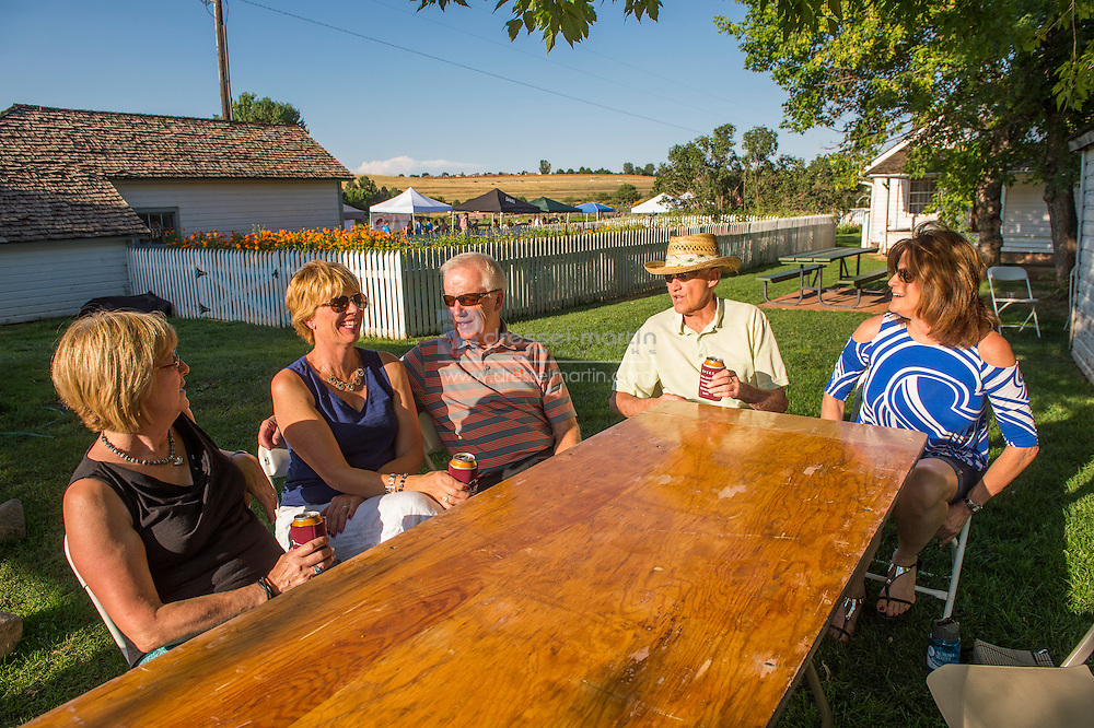 foodways CSA tours at chatfield farms